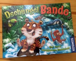 Affe, Ameisenbär, Elefant, Tukan, Tiger oder Schlange? – Über das Würfel- und Merkspiel Dschungelbande von Stefan Dorra und Manfred Reindl