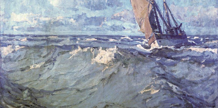 Von Norderney nach Edenkoben – Der Maler der Nordsee in der Max Slevogt-Galerie – Sonderausstellung zu Poppe Folkerts startet am 22. August 2017