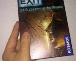 """Das Einmal-Spiel """"Exit – Die Grabkammer des Pharao"""""""