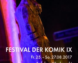 """""""Draußen und umsonst!"""" – Das Festival der Komik auf den Weckmarkt"""
