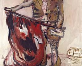"""Max Holleins letzte … – Mit der Präsentation der frühen Werkgruppe der """"Helden"""" von Georg Baselitz im Frankfurter Städel setzt Max Hollein den endgültigen Schlusspunkt unter seine Tätigkeit in Frankfurt"""