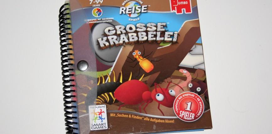 """""""Grosse Krabbelei"""" bietet als Reise- und Logikspiel einen großzügigen und geistreichen Zeitvertreib"""