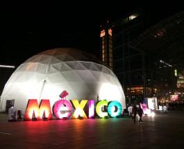 Modernes Mexiko in einem Pavillon entdecken