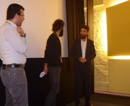 """Bitte ein Kilo. Miral K. mit Kurzspielfilm  """"Vegerin"""" im Kino Babylon-Mitte zum Filmfest"""