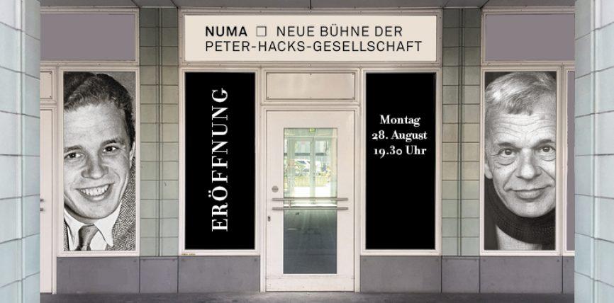 Zertrümmer das Infame, rät Voltaire – Auf zur Eröffnung der Neuen Bühne der Peter-Hacks-Gesellschaft