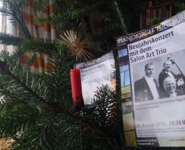"""Neujahrskonzert in Lüneburgs alt-neuem Viertel –""""Salon Art Trio"""" am 8. Januar in der neuen """"Event Location"""" """"Pianokirche Lüneburg"""" mit alter Musik: Castello, Romantik, Vanhal"""