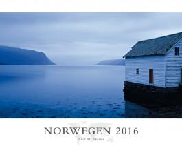 """Norwegen zwölfmal bläulich bis Schwarz – Annotation zum Kalender """"Norwegen 2016"""" von Axel M. Mosler"""