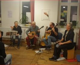 """Musikpiraterie einmal anders. Die Berliner """"Ohrpiraten"""" spielen in der BARt-Bar"""
