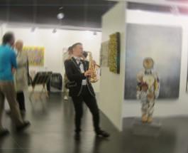 Die junge Kunstmesse Rhy Art Fair Basel läuft zum dritten Mal