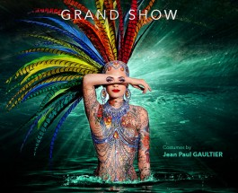 """""""The One"""" – ein Feuerwerk der Phantasie – Revue im Friedrichstadt-Palast mit Kostümen des Pariser Haute-Couture Modeschöpfers Jean-Paul Gaultier"""