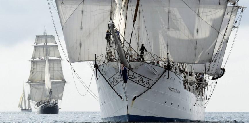 """Die letzten Windjammer der Weltmeere – Annotation zum 2017er-Kalender """"Windjammer"""""""